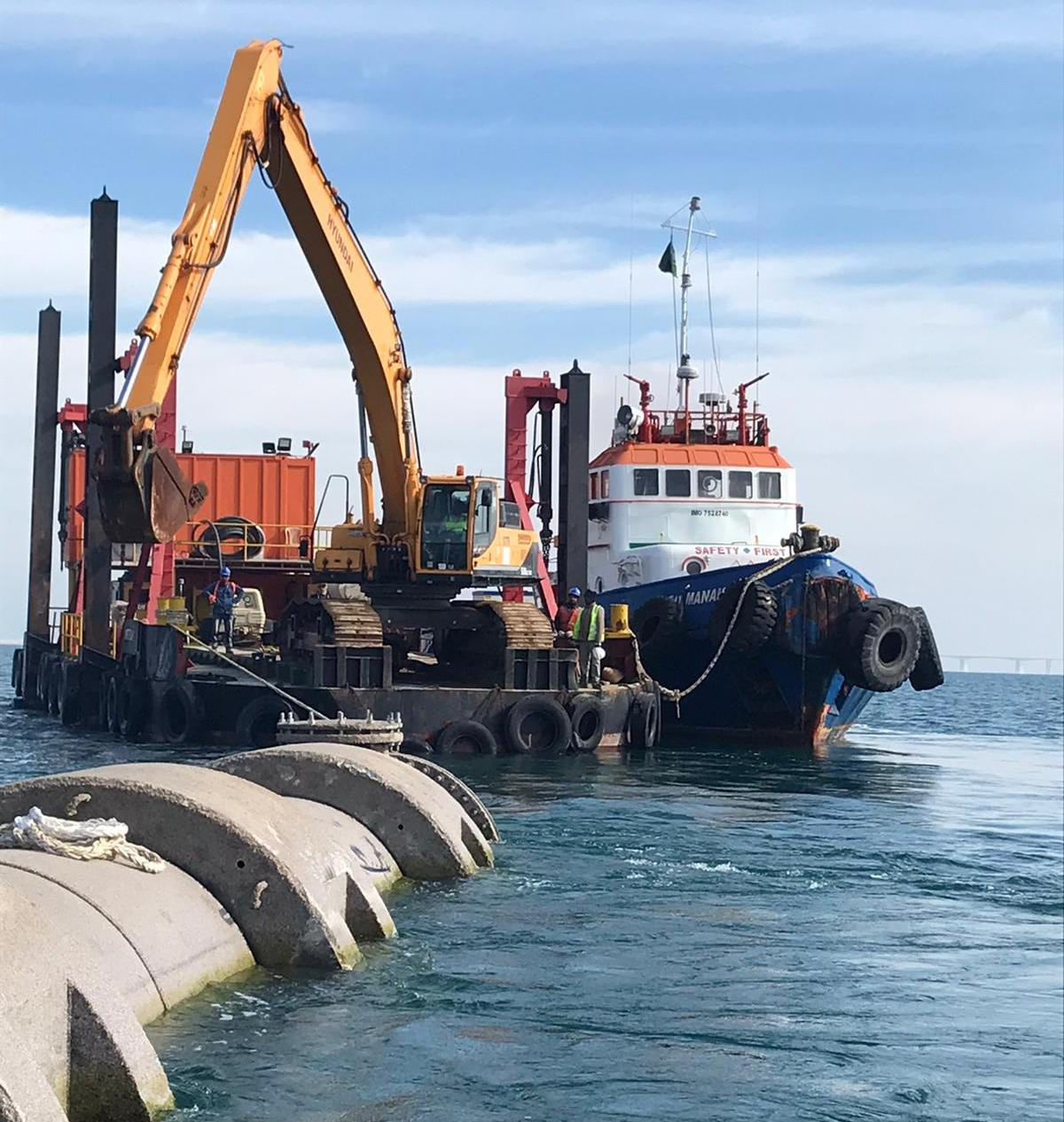 highly professional dredging company in Bahrain